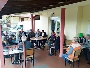 Φωτογραφία για Ομιλία του Υποψηφίου Δημάρχου Γρεβενών και Επικεφαλής του συνδυασμού «Μαζί συνεχίζουμε» κ. Δημοσθένη Κουπτσίδη στους Γρεβενιώτες της Ελασσόνας και του Τυρνάβου