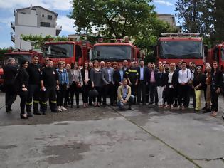 Φωτογραφία για Γιώργος Παπαναστασίου :επίσκεψη σε πυροσβεστική και αστυνομία