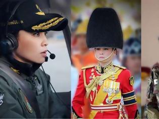 Φωτογραφία για Ταϊλάνδη: H νέα σύζυγος του «βασιλιά με το μπουστάκι» ποζάρει με 20 στολές και... σουρεάλ photoshop!