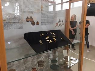 Φωτογραφία για ΔΕΙΤΕ Εικόνες για πρώτη φορά απο το ΧΡΥΣΟ ΣΤΕΦΑΝΙ ΤΟΥ ΘΥΡΡΕΙΟΥ που εκτίθεται στο Αρχαιολογικό Μουσείο ΑΓΡΙΝΙΟΥ