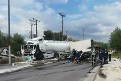 Θανατηφόρο τροχαίο με βυτιοφόρο στο Κορωπί: Συνελήφθη ο οδηγός που το προκάλεσε