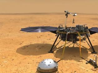 Φωτογραφία για Νέες ενδείξεις για μεγάλες ποσότητες νερού κάτω από τον πόλο του Άρη