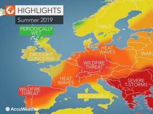 Φωτογραφία για Δύσκολο καλοκαίρι με ακραία καιρικά φαινόμενα για Ελλάδα και Ευρώπη