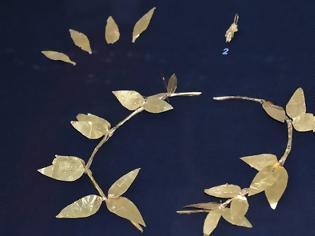Φωτογραφία για Παπαστράτειο Αρχαιολογικό Μουσείο Αγρινίου: Δεκάδες επισκέπτες για το χρυσό στεφάνι του Θυρρείου