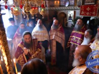 Φωτογραφία για 12106 - Πανηγύρισε το Βατοπαιδινό Κελλί του Αγίου Νικολάου Αμμωνά (φωτογραφίες)
