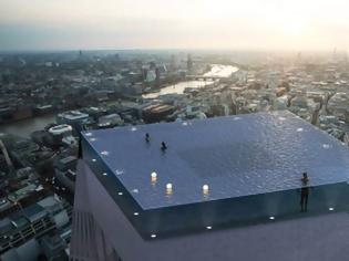 Φωτογραφία για Η πρώτη πισίνα infinity 360° σε ουρανοξύστη θα κατασκευαστεί στο Λονδίνο