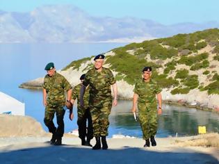 Φωτογραφία για Επίσκεψη Αρχηγού ΓΕΣ στις νήσους Κάλυμνο, Πάτμο, Λέρο, Καλόλιμνο και Φαρμακονήσι