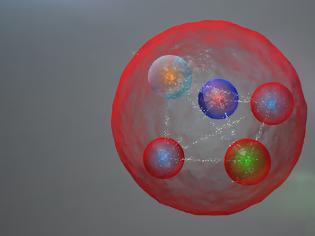 Φωτογραφία για Ανακαλύφθηκε ένα νέο πεντακουάρκ στο CERN