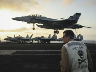 Φωτογραφία για ΗΠΑ σε Τουρκία: Εχουμε πλοία, αεροσκάφη και 9.000 στρατιώτες στην Αν. Μεσόγειο