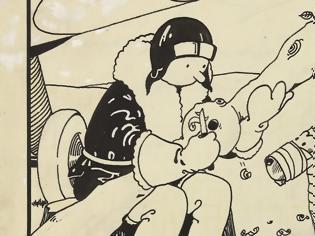 Φωτογραφία για Το πρώτο εξώφυλλο του Τεν Τεν πουλήθηκε για 1,125 εκατομμύρια δολάρια