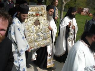Φωτογραφία για Λιτανεία Ιεράς εικόνος ''Άξιον Εστί''(Μοναχός Σάββας Φιλοθεΐτης)