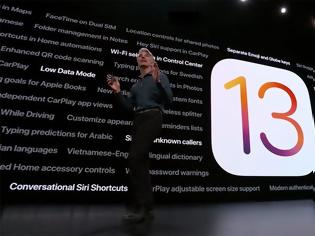 Φωτογραφία για iOS 13: Φέρνει το Dark Mode, είναι ταχύτερο