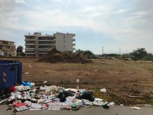 Φωτογραφία για Κορακόνερο ώρα μηδέν: σκουπίδια και ξερόχορτα - φωτος