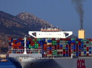 Φωτογραφία για OOCL United Kingdom: Η αναχώρηση του «γίγαντα των θαλασσών» από τον Πειραιά