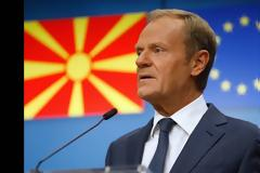Τουσκ: Κάποιες χώρες δεν θέλουν Αλβανία και Σκόπια στην ΕΕ