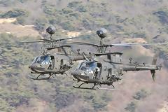 Αναβαθμίζεται η εκπαίδευση των πιλότων της Αεροπορίας Στρατού με την άφιξη των ΟΗ-5D Kiowa Warrior