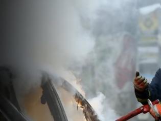 Φωτογραφία για Φωτιά σε αυτοκίνητο στο ύψος της Λεωφόρου Καβάλας