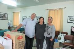 Ο Σύλλογος Γυναικών Αστακού ευχαριστεί όσους προσέφεραν τρόφιμα και χρήματα σε άπορες οικογένειες