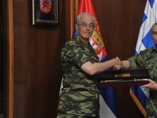 Φωτογραφία για Επίσημη Επίσκεψη του Αρχηγού ΓΕΣ στη Σερβία