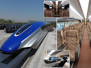 Φωτογραφία για Η Κίνα ετοιμάζει maglev τρένο με ταχύτητα 600km/h