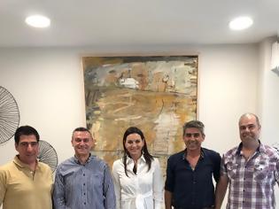 Φωτογραφία για Συνάντηση Στρατιωτικών με την Όλγα Κεφαλογιάννη