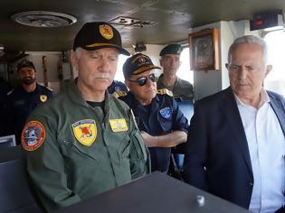 Φωτογραφία για Ε. Αποστολάκης: «Άλλη μια φορά, οι Ένοπλες Δυνάμεις αποδεικνύουν ότι είναι ικανές, παρούσες και εγγυώνται την ασφάλεια της Ελλάδας»