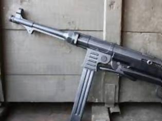 Φωτογραφία για Κυκλοφορούσε οπλισμένος με υποπολυβόλο των Ναζί στο Ηράκλειο