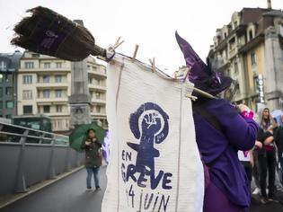 Φωτογραφία για Οι Ελβετίδες απεργούν για τη μισθολογική ισότητα