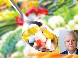 Φωτογραφία για Πετάξτε τα συμπληρώματα διατροφής, συστήνει ο καθηγητής Αντώνης Καφάτος