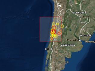 Φωτογραφία για Ισχυρή σεισμική δόνηση 6,5 Ρίχτερ στη Χιλή