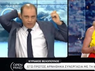 Φωτογραφία για Άγριος τηλεοπτικός καβγάς Βελόπουλου με Στάη - Αποχώρησε από την εκπομπή
