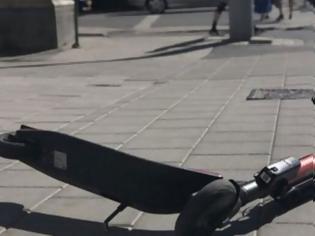 Φωτογραφία για Εύβοια: Συγκρούστηκε μηχανή με πατίνι - Στο νοσοκομείο οι δύο αναβάτες