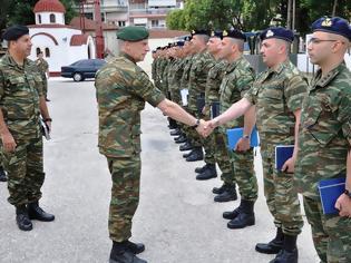Φωτογραφία για Επίσκεψη Γενικού Επιθεωρητή Στρατού στην Περιοχή Ευθύνης του Δ΄ΣΣ