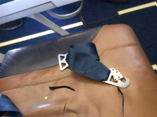 Φωτογραφία για Τρόμος σε πτήση από Κόσοβο προς Ελβετία: Αεροσυνοδός «απογειώθηκε» από τις αναταράξεις (vid + pics)