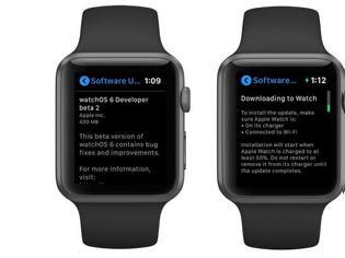 Φωτογραφία για Apple Watch: ενημερώσεις από το ρολόι έρχονται άμεσα