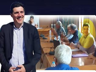 Φωτογραφία για Το ντεμπούτο του ΔΗΜΗΤΡΗ ΜΑΣΟΥΡΑ - Δυναμική η πρώτη δημόσια εμφάνιση στο Δημοτικό Συμβούλιο ΑΚΤΙΟΥ -ΒΟΝΙΤΣΑΣ