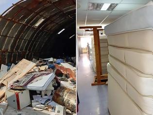 Φωτογραφία για Γενικό Κρατικό Νίκαιας: Εικόνες εγκατάλειψης, σκουπίδια και εστίες μόλυνσης