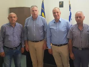 Φωτογραφία για Επίσκεψη υποψήφιου Βουλευτή Γιάννη Οικονόμου στην ΕΑΑΣ Φθιώτιδας