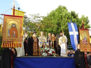 Φωτογραφία για 12168 - Μεγαλοπρεπής υποδοχή της Τιμίας Ζώνης της Θεοτόκου στη Δράμα