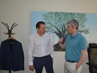 Φωτογραφία για Επίσκεψη Κ. Καραγκούνη στην Ένωση Αγρινίου