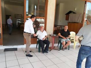 Φωτογραφία για Δημήτρης Κωνσταντόπουλος: Περιοδεία στη Βόνιτσα και Επίσκεψη στο Κέντρο Υγείας Βόνιτσας