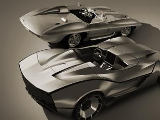 Φωτογραφία για Η Corvette γιορτάζει 60 χρόνια ιστορίας Stingray Racer