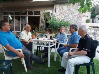 Φωτογραφία για Σε καθημερινή επαφή με τους κατοίκους της Αιτωλοακαρνανίας ο Βασίλης Αντωνόπουλος