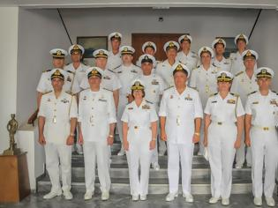Φωτογραφία για Επίσκεψη Διοικητού 6ου Στόλου Πολεμικού Ναυτικού Ηνωμένων Πολιτειών Αμερικής