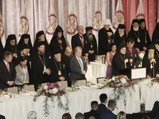 Φωτογραφία για Αρχιεπίσκοπος Αμερικής Ελπιδοφόρος: Με κάθε λαμπρότητα ολοκληρώθηκε η τελετή ενθρόνισης