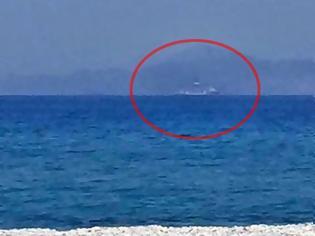 Φωτογραφία για Δείτε το Γιαβούζ έξω από τη Ρόδο να πλέει προς Κύπρο (ΦΩΤΟ)