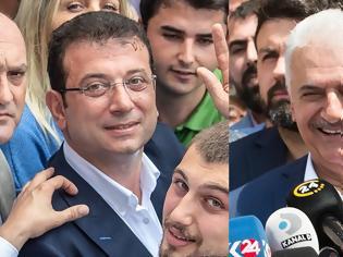 Φωτογραφία για Δημοτικές εκλογές στην Κωνσταντινούπολη: Νίκη Ιμάμογλου, «χαστούκι» για Ερντογάν