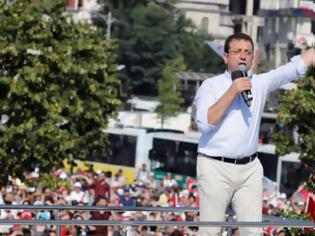 Φωτογραφία για Ιμάμογλου: Οι «αιχμές» κατά του Ερντογάν και το «ευχαριστώ» στους Έλληνες