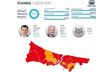 Φωτογραφία για Κωνσταντινούπολη: Νικητής ο Ιμάμογλου - Ηττημένος ..ο Ερντογάν