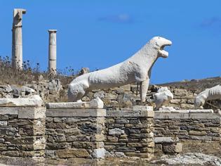Φωτογραφία για Αγώνας των επιστημόνων να σώσουν τα μνημεία της Δήλου από τις συνέπειες της Κλιματικής Αλλαγής